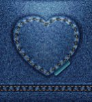 cuore jeans