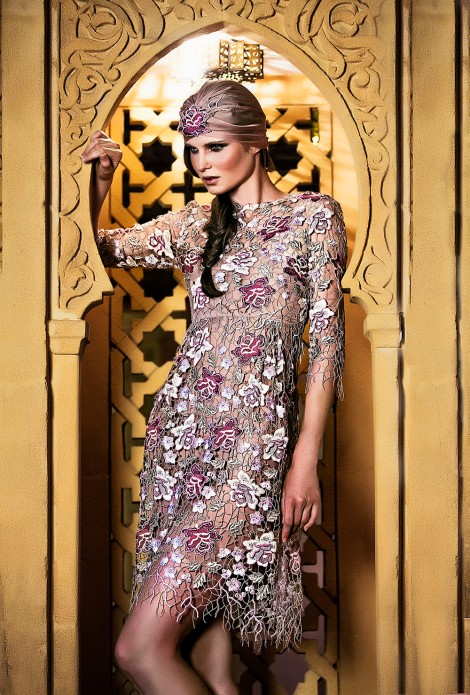 Giada Curti Haute Couture collezione fall winter 14 15 Inshallah