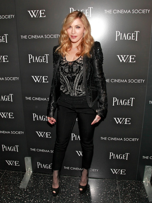 "The Cinema Society & Piaget Host A Screening Of ""W.E."" - Inside Arrivals"